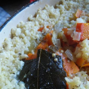 Baked Millet with Kabocha Squash