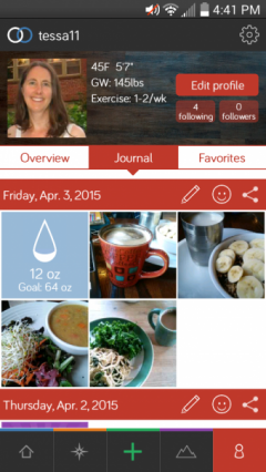 A Super Easy Way to Keep a Food Diary
